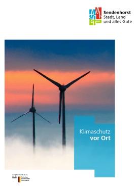 Klimaschutz vor Ort - Beilage zur Neubürgerbroschüre